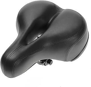 OUTERDO Dual Spring Design Big Bum Extra Comfort Bicycle Bike Saddle Seat 25 * 20cm