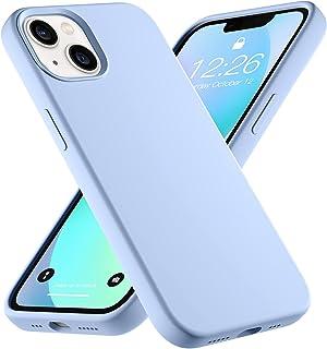 Upeak Vloeibare Siliconen Hoes Compatibel Met iPhone 13 2021, 6,1 inch Anti-shock Flexibele Telefoonhoes Triple Layer Full...