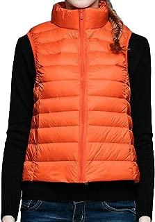 Women Packable Lightweight Winter Down Vest Outdoor Puffer Vest