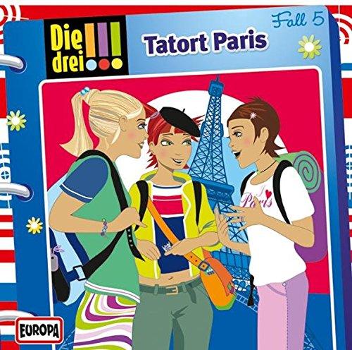 Die drei !!!, Folge 5: Tatort Paris