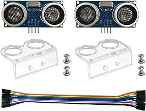 DSD TECH Módulo de sensor ultrasónico 2PCS HC-SR04 para Arduino