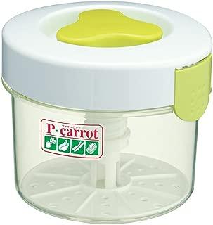 JapanBargain 3871 Round Pickle Press, 1.6 Liter, White