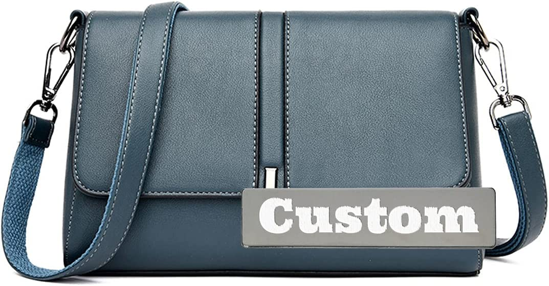 Personalized Custom Name Small New product! New type Leather Long-awaited compatible Shoulder w Bag