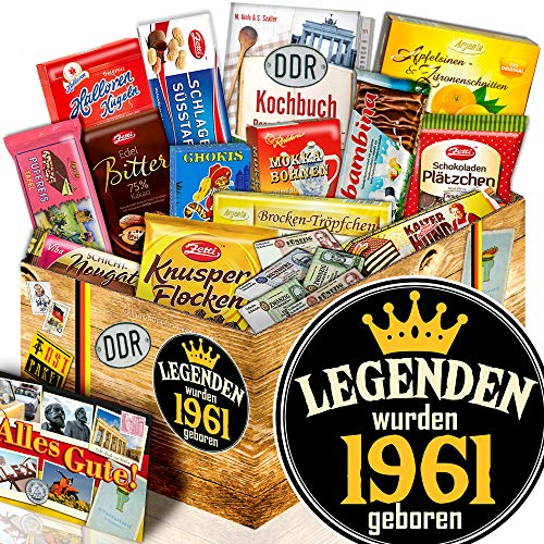 Legenden 1961 / Geschenk Set DDR Schokolade / 1961 Geschenkpaket