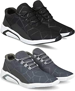 Zenwear Combo Pack of 2, Sports and Running Shoes for Men
