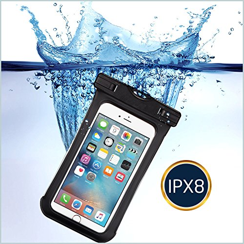 KingSnow Unterwasser Handy Hülle, wasserdichte Handyhuelle für iPhone 6 / 6s / 7 Plus / 8 Plus, Schneegeschützt Tauchen Unterwasser Fotografieren Samsung Galaxy S6 / Samsung S7 / Galaxy S8