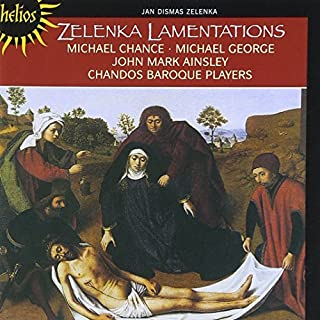 Zelenka: The Lamentations of Jeremiah by The Chandos Baroque Players (2002-08-02)