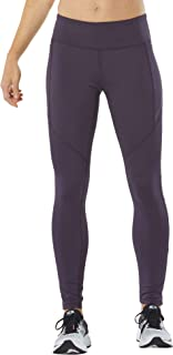 R-Gear Women's Compression Tights with Pockets, Wide Waistband, Gym, Yoga, Fitness, Training, Lounge   Recharge 2.0