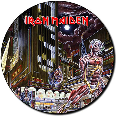 Iron Maiden Somewhere In Time A Alfombrilla Redonda Round Mousepad PC