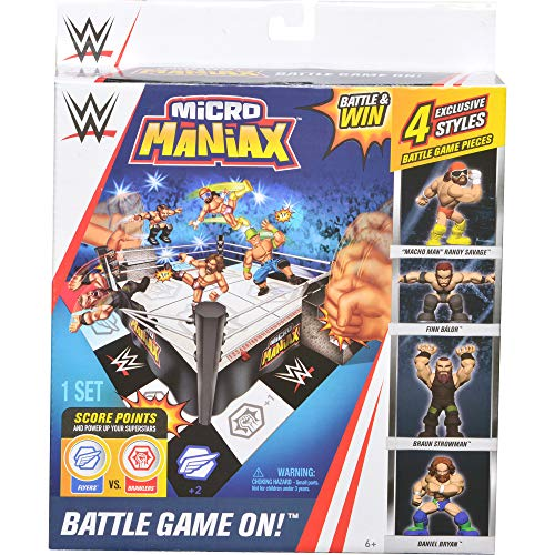 WWE Micro Maniax Board Game