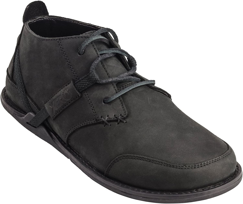 Xero skor Coalton - herrar Chukka Style, Barefoot -Inspirerad Minimalist, Zero -Drop Low läder Boot
