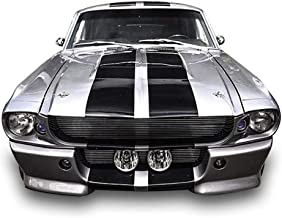 Bubbles Designs 1x Full Stripe Kit Decal Sticker Graphic Compatible with Classic Ford Mustang 1966-1967 GT500 1st Gen