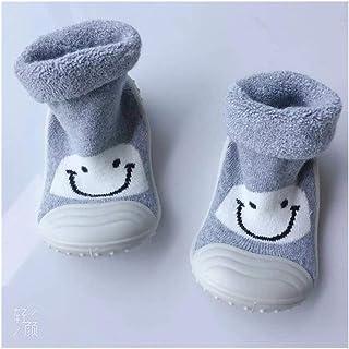 LiuQ, LiuQ Bebé Calcetines Zapatos de Piso Calcetines del bebé del niño del bebé Calcetines del Tubo Suela de Goma de la Historieta de la Toalla Niños Que Espesan (Color : 9, tamaño : 24 Months)