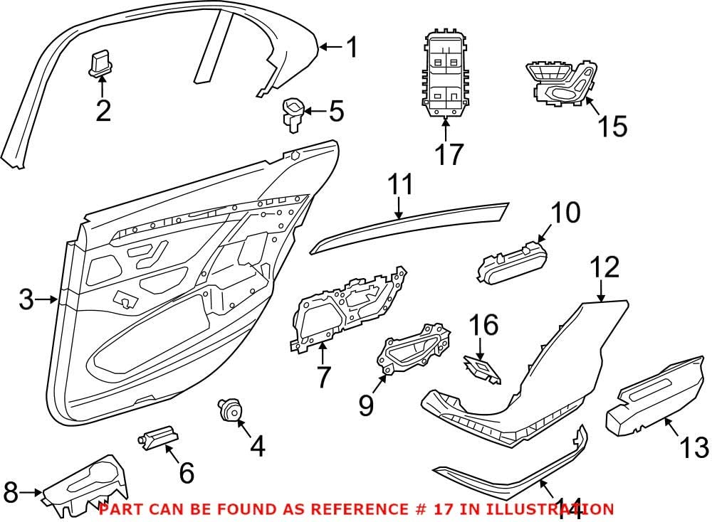 Genuine Ranking TOP18 OEM Sale SALE% OFF Power Seat for Mercedes Switch 22290538019J01