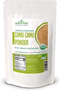 Organic Camu Camu Berry Powder | Naturally Energizing Immune Boosting Vitamin C, Antioxidants, and Proteins | Raw, Pure, G...