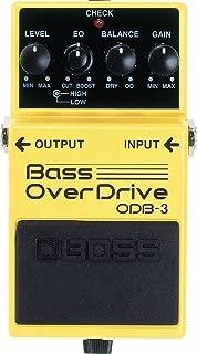 BOSS Bass Overdrive Guitar Pedal (ODB-3)
