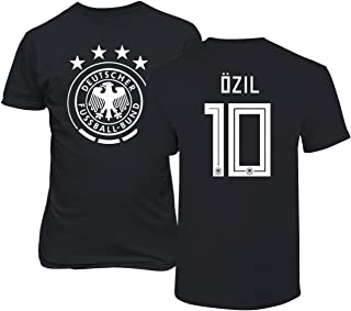 Germany 2018 National Soccer #10 Mesut Ozil World Championship Men's T-Shirt
