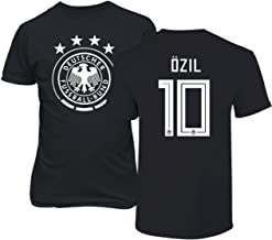 Tcamp Germany 2018 National Soccer #10 Mesut Ozil World Championship Men's T-Shirt
