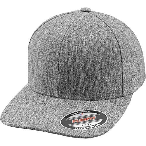 Flexfit Mütze Plain Span, h.grey, S/M