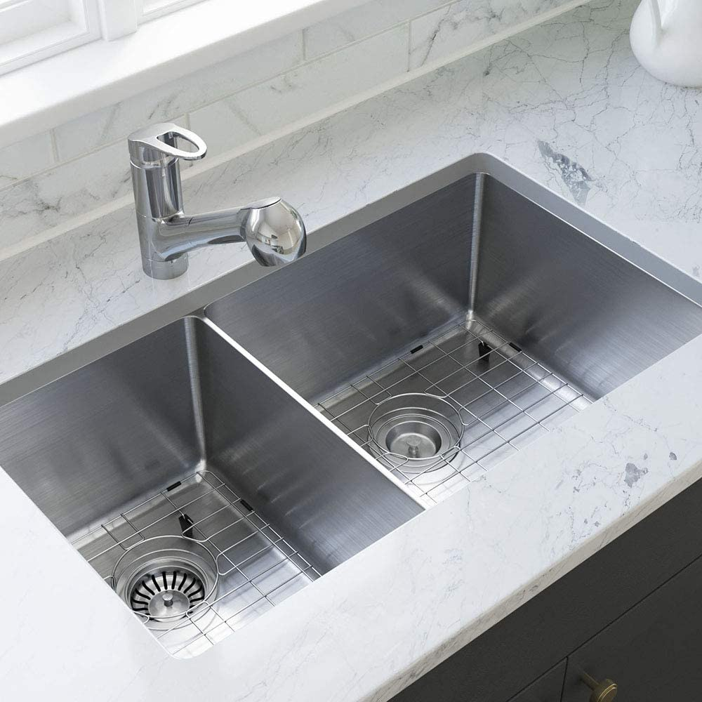 MR Direct 3160R-18-SLG-ENS Kitchen Sink SinkLin Accessories with Spring new work Limited price sale one after another