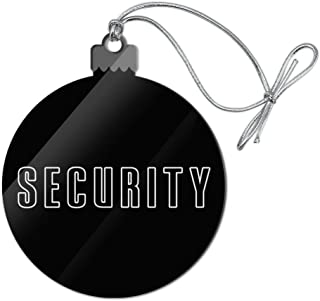 GRAPHICS & MORE Security Acrylic Christmas Tree Holiday Ornament