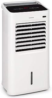 KLARSTEIN IceWind – 4 en 1: Enfriador de Aire, Ventilador, humidificador de Aire, Limpiador de Aire, caudal de 222 m³/h, 36,5 W, función NatureWind: 3 Niveles de Intensidad, silencioso, Blanco