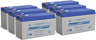 12V 7Ah Battery Replaces Polaris 500 Swing Gate Opener - 6 Pack