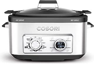 COSORI Slow Cooker 6-Quart 11-in-1 Programmable Multi-Cooker Pot, Rice Cooker, Brown, Saute, Boil, Steamer, Yogurt Maker, Auto-Warmer, Delay Timer,86°F-400°F,2-Year Warranty,UL Listed/FDA Compliant