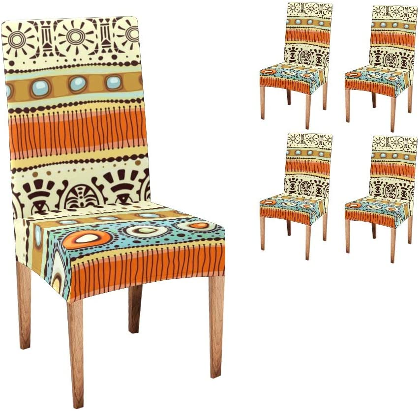 In a popularity Anneunique CUXWEOT Chair Factory outlet Covers for Dining E African Room Custom