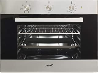 Cata ME 4006 X Horno Limpieza Aquasmart Multifunción-6 Funciones, 40 litros, Cristal, Negro/Acero Inoxidable