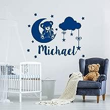 BFMBCH Nombre personalizado pegatinas de pared Xiong Yun estrellas pegatinas de vinilo niños dormitorio personalidad personalizado mural pegatinas de pared A1 54x42 cm