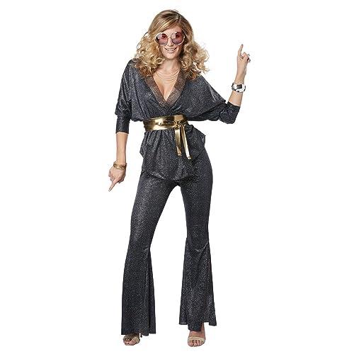 2497a57e495 California Costumes Disco Dazzler Womens Adult 70S Costume