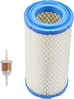 Harbot M113621 Air Filter with Fuel Filter for John Deere 4X2 6X4 TX 4X4 6X4 XUV HPX 1026R 1023E 4100 X758 2210 4010 X748 4110 X595 X750 X740 X495 4115 X749 Gator Lawn Tractor