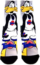 Looney Tunes Space Jam Tune Squad Daffy Duck Sublimated Crew Socks