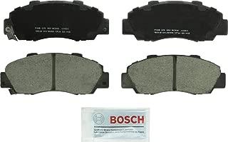 Bosch BC503 QuietCast Premium Ceramic Disc Brake Pad Set For: Acura CL, Integra, Legend, NSX, RL, TL, Vigor; Honda Accord, CR-V, Odyssey, Prelude; Isuzu Oasis, Front