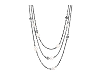 John Hardy Classic Chain Multi-Row Necklace (Sterling Silver) Necklace