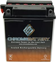 YB12A-A Conventional Battery - High Performance - Rechargeable - Replacement Motorcycle