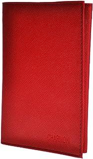 Charmoni-Pavel-Funda portapapeles, para los documentos del coche, cuero sintético flexible