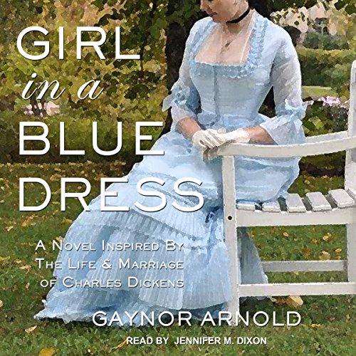 Girl in a Blue Dress audiobook cover art