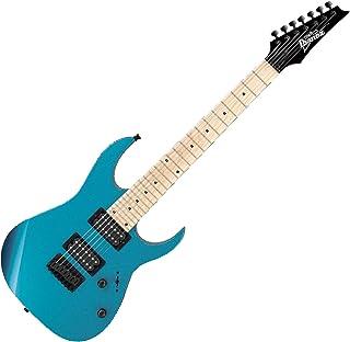 Ibanez GRG 7 String Solid-Body Electric Guitar, Right, Metallic Light Blue, Full (GRG7221MMLB)