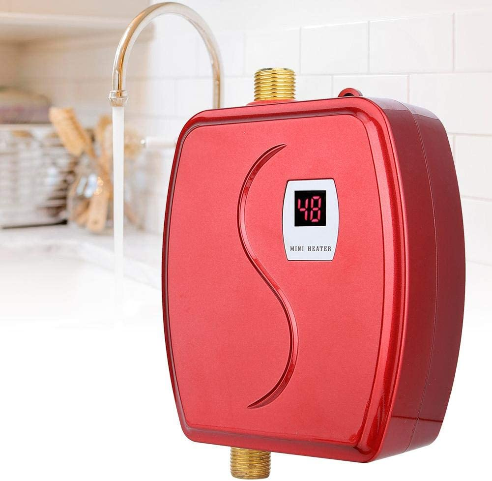 Electric Tankless Water Heater Household Point-of-Use Water ...