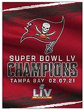NFL Tampa Bay Buccaneers 2021 Super Bowl LV Champions Home Flag