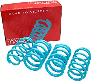 Godspeed LS-TS-HA-0024 Traction-S Performance Lowering Springs, Reduce Body Roll, Improved Handling, Set of 4