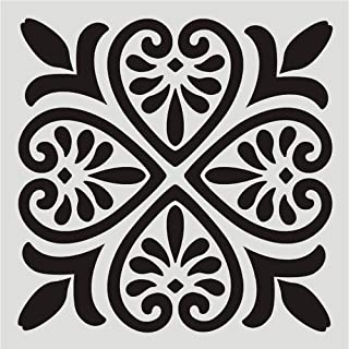 Stencils Reusable 12x12 Inch Wall Template Stencil for Painting Wall/Floors/DIY Home Decor/Drawing Art