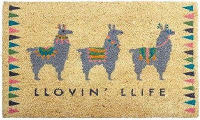 Karma Gifts, Llama Welcome Mat