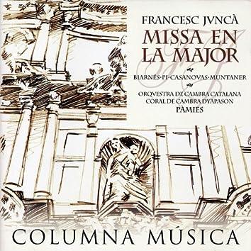 Francesc Juncà: Missa en La Major