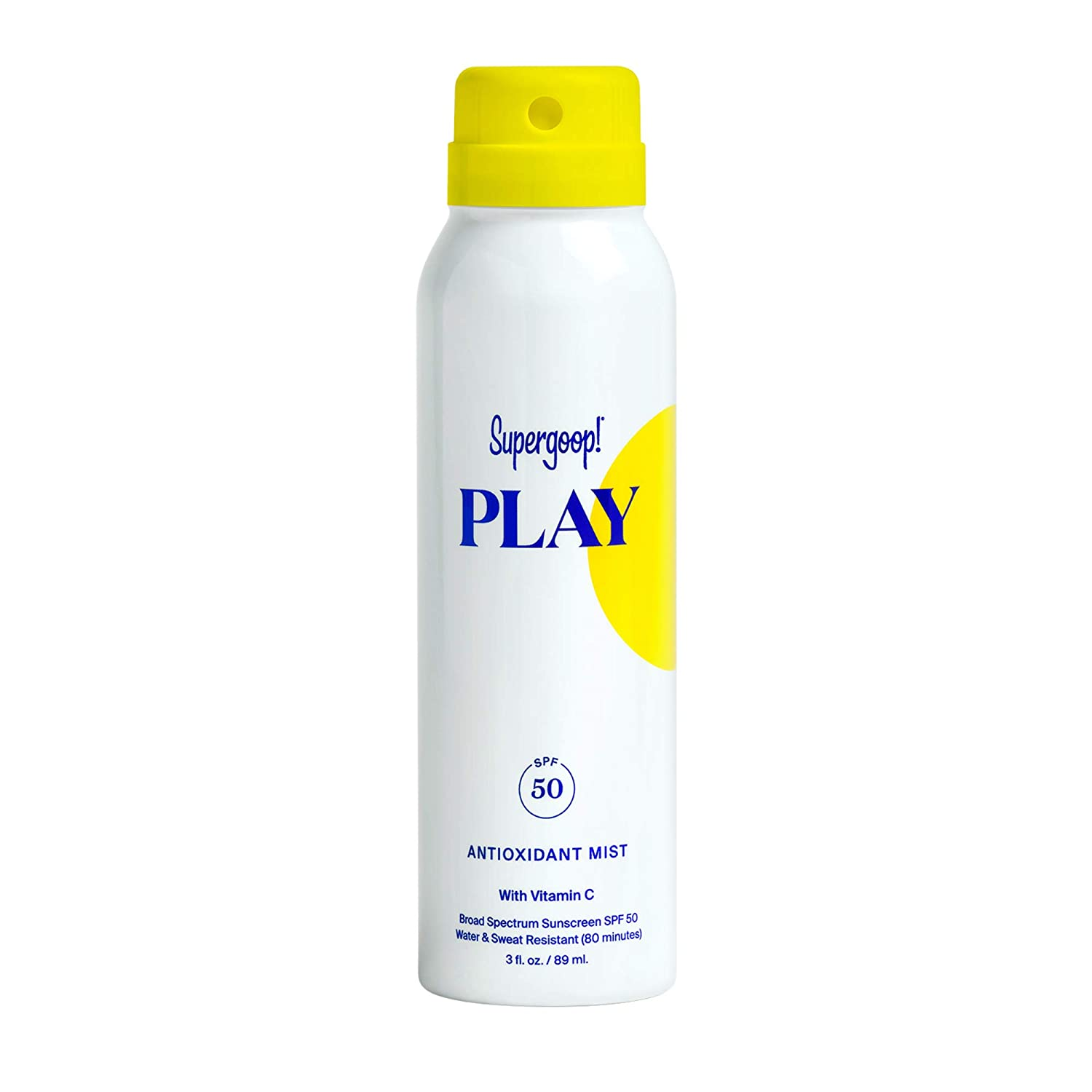 Supergoop Antioxidant-Infused Sunscreen Mist Vitamin Large discharge 5 ☆ very popular sale C with SPF