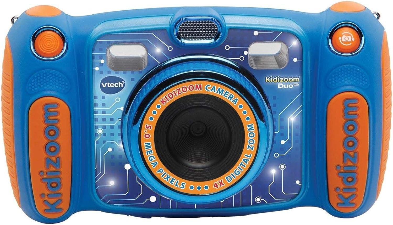 tienda en linea VTech - Kidizoom Duo 5.0 5.0 5.0 cámara de Fotos Digital para Niños, 5 megapíxeles, Pantalla a Color, 2 Objetivos, Color Azul, versión benelux  grandes precios de descuento
