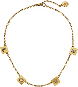 Tory Burch - Message Delicate Necklace