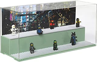 LEGO Green Play & Display Case Ninja Go Movie Sand, 19.2 x 39.8 x 14.9 cm